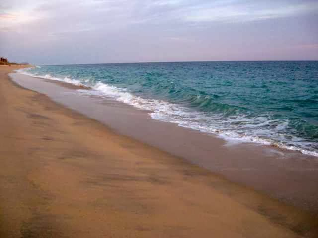 ocean and beach in Baja