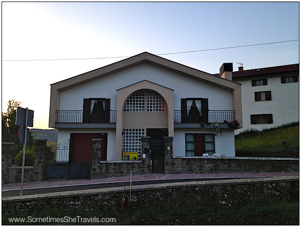 My first albergue experience, Corazon Puro in Bizkaretta, located between Pamplona and St. Jean Pied de Port, is where I spent the night before beginning to walk.