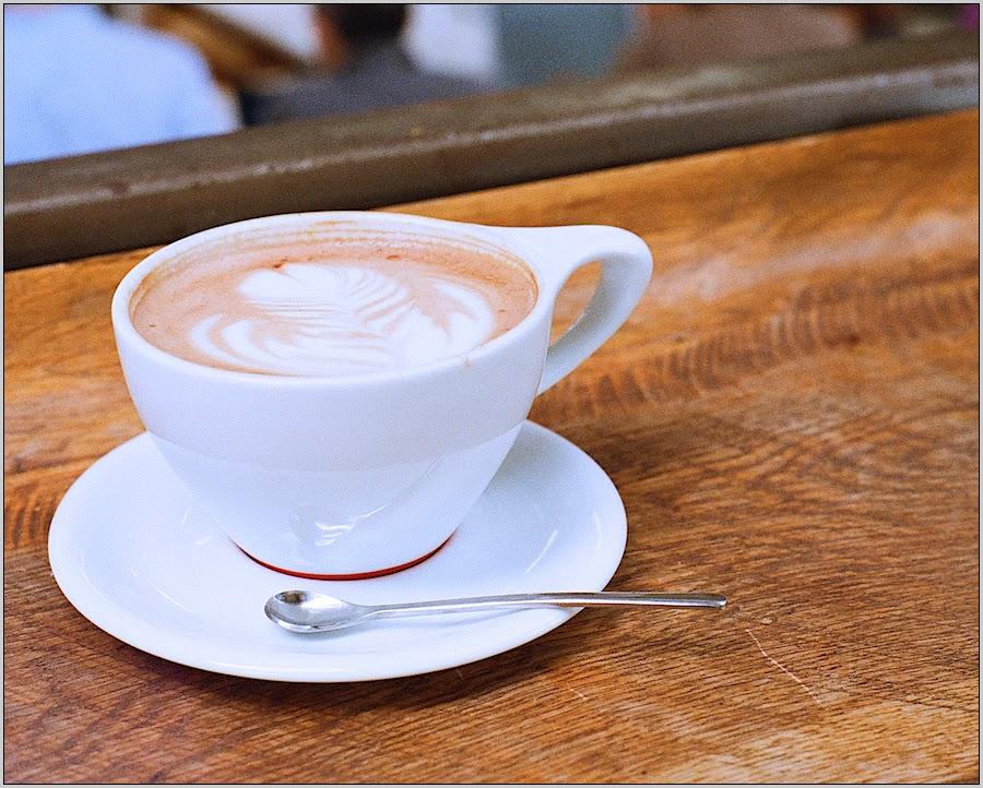 Cappuccino or café con leche