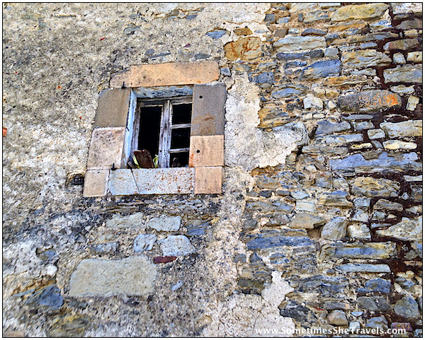 Day 3: old stone wall and window