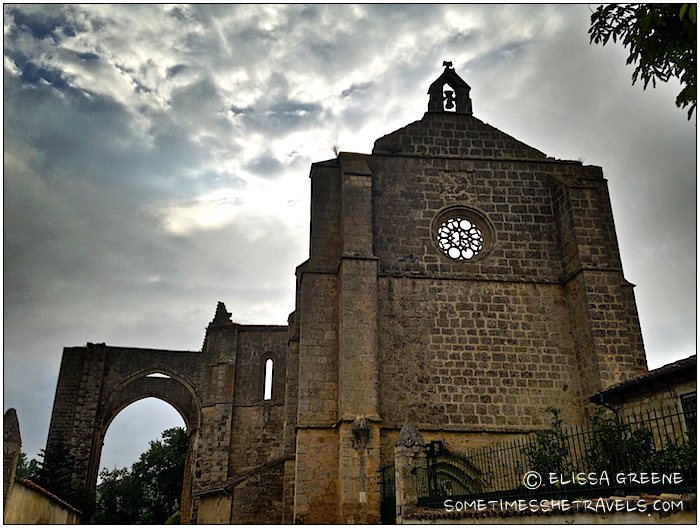 ancient stone convent