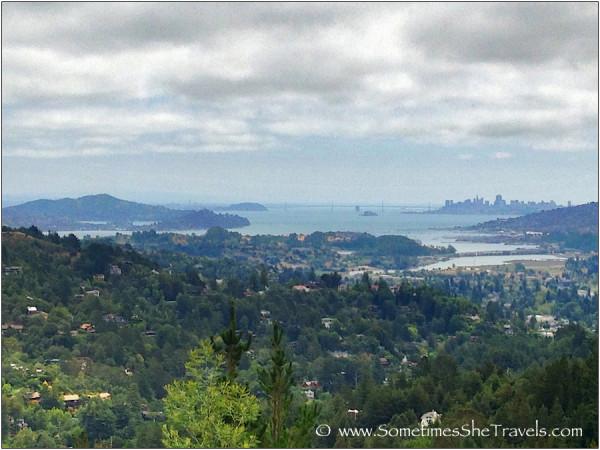 View of bay and San Francisco
