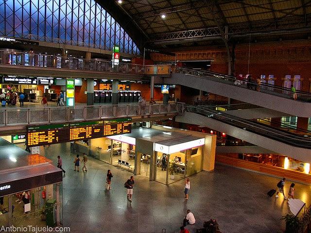 Atocha Train Station by António Tajuelo