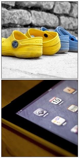 Crocs and iPad