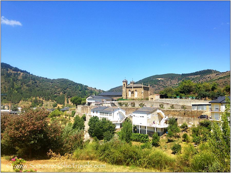Approaching Villafranca