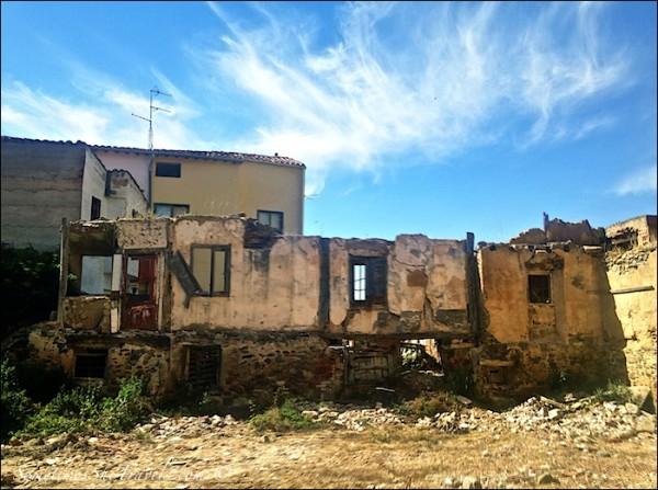 Belorado Decrepit Buildings