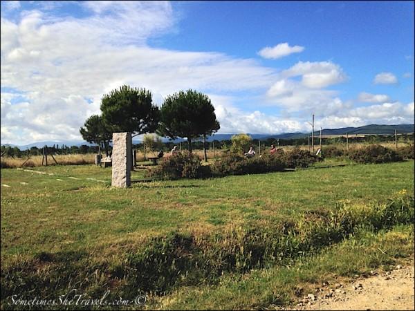 camino de santiago pilgrim rest stop
