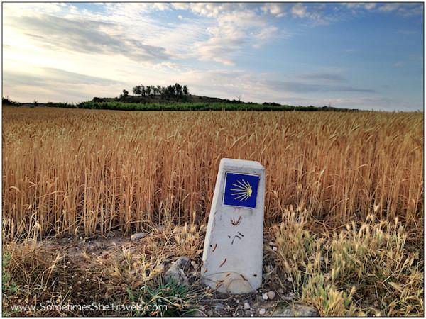 0726 Camino Waymarker