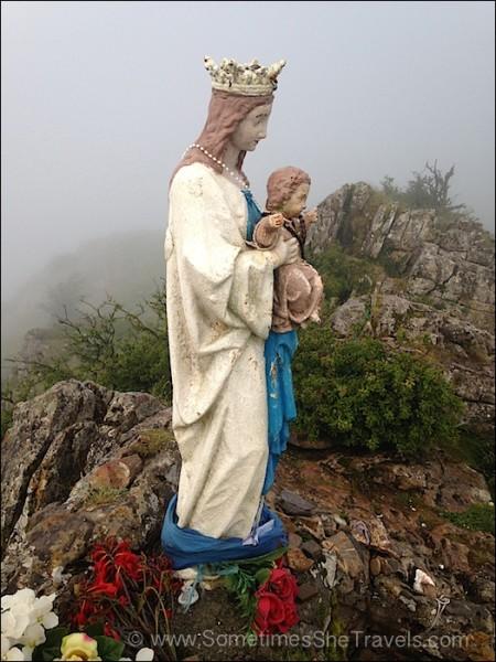 Camino Francés: Virgin of Orisson